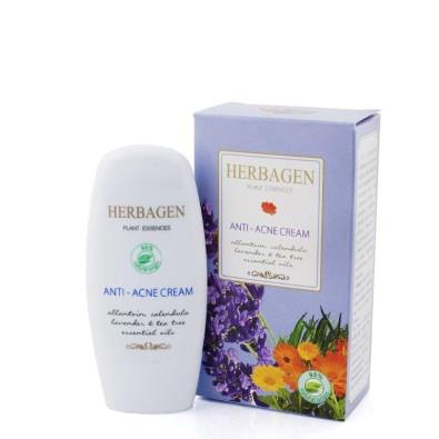 Crema antiacnee Herbagen cu uleiuri esentiale