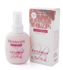 Crema fata Herbagen cu micronizat de strugure rosu