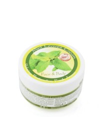 Mint leaves body and face cream