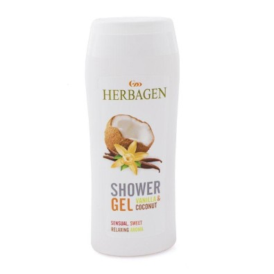 Shower Gel with Coconut and Vanilla