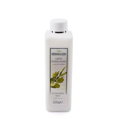 Lapte demachiant cu ulei de masline Herbagen