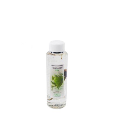 Bergamot and grapefruit massage oil
