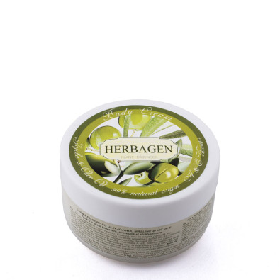 Body cream with jojoba and olive oil