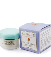 Cream with marine collagen and calendula extract