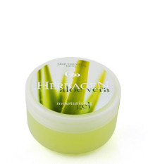 Face and body moisturizing gel with aloe vera extract