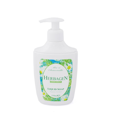 Liquid soap with aloe and chamomile extracts