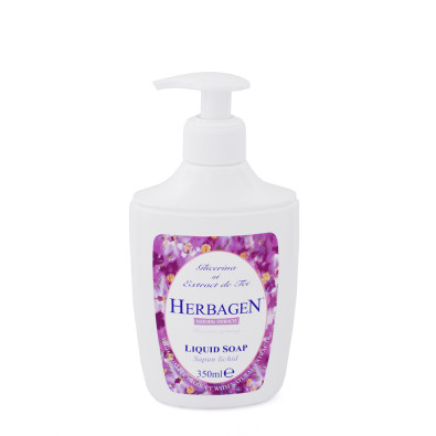 Liquid soap with glycerin and linden extract