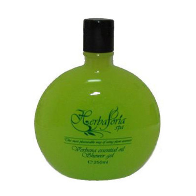 Shower gel with essential verveine oil