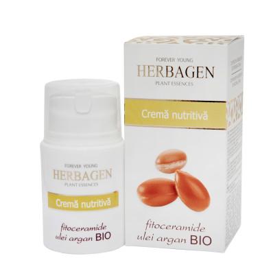 Nourishing cream with argan oil